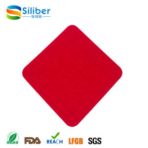 Wholesale Heat Resistant Square Anti-Skidding Washable Silicone Tablemat/Placemat/Coaster pictures & photos