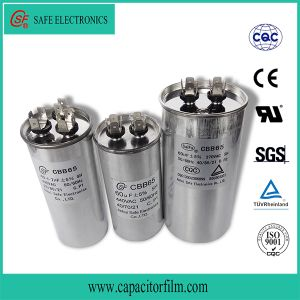 Cbb65 AC Motor Start Capacitor for Washing Machine pictures & photos