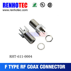 F Connector, F Female Chassis Mount pictures & photos