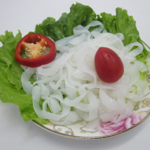 200g/Pack Drained Weight Konnyaku Japanese Food Glucomannan Fettuccine pictures & photos