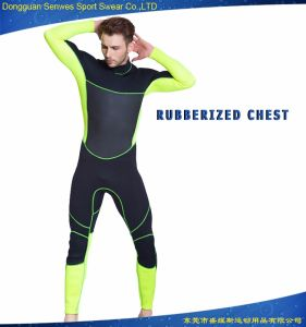 Neoprene Men′s Flexible Wetsuit for Surfing Diving Snorkeling pictures & photos