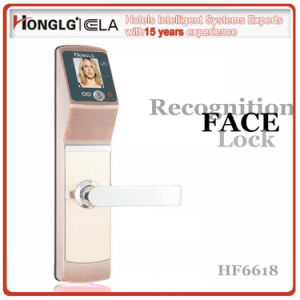 Highest Technology Honglg Brand Camera Face Door Lock pictures & photos