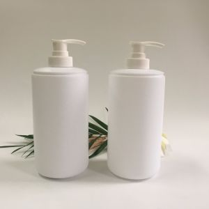 500ml White Pet Plastic Shampoo Lotion Bottle pictures & photos