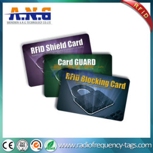 High Security Printed Wallet Blocking RFID Smart Card Protectors pictures & photos