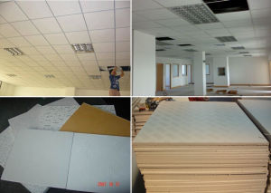 Size: 1200*2400*9mm/Gypsum /Gypsum Ceiling /Gypsum Board /Shandong Top Building /Regular Gypsum Board pictures & photos