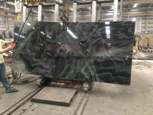 Popular Chinese Green Granite and Marble Slabs for Countertop and Tiles pictures & photos