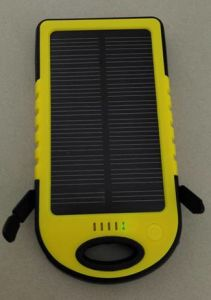 Solar Charger Sp-Es500 with Li-Pol 4000mAh Power Bank pictures & photos