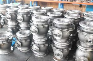 Stellite Alloy Seat Flanged Trunnion Mounted Ball Valve pictures & photos