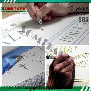 Somitape Sh3050 Wholesale Sandblast Resist Protective Film for Marble Surface pictures & photos