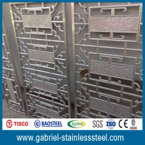 China Factory Suppliy 201 Stainless Steel Decorative Screen Room Divider pictures & photos