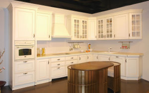Solid Wood Home Furniture Kitchen Cabinets Storage Cabinet pictures & photos