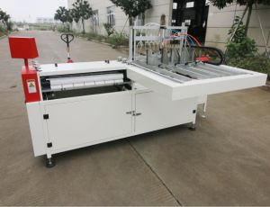 Double Work Position Book Case Maker/ Hardcover Making Machine pictures & photos