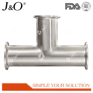 Sanitary Stainless Steel Y Elbow Clamp Tee pictures & photos