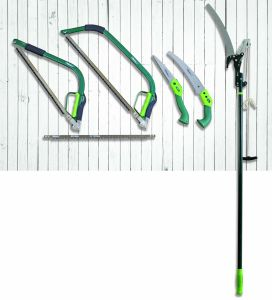 """14"""" Garden Tools 65mn Steel Triple Cutting Teeth Curved Blade Pruning Saw pictures & photos"""