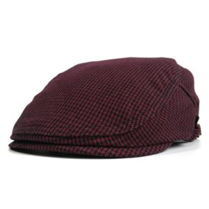 Wine Red Flat Gastby Hat pictures & photos