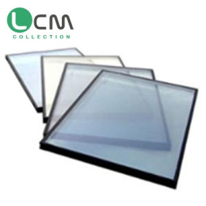 Solar Shanding Single Double Triple- Silver Low-E Coated Glass for Building Glass pictures & photos