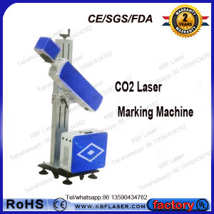 Quick Mark CO2 Laser Printing Machine for Bottle pictures & photos