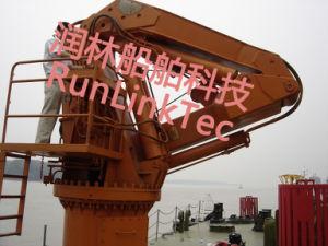 Hydraulic Telescopic Knuckle Crane, Marine Crane pictures & photos