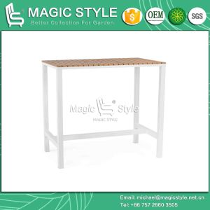 Textile Bar Stool with Plastic Slat for Outdoor pictures & photos