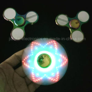 2017 Hot Sell LED Finger Fidget Hand Spinner (6000E) pictures & photos