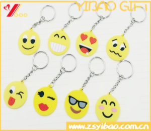 Custom High Quality PVC Facial Expression Keychain Gift (XY-HR-86) pictures & photos