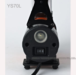 Fast Pumping Tire Inflator Pump with LED Light pictures & photos