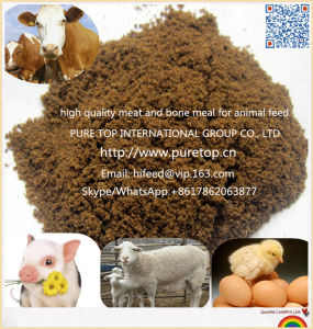 Best Quality Poultry Feed 50% Protein Meat and Bone Meal pictures & photos