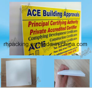 PP Corrugated Board/Smiple Printing UV Stable Plastic /Corona Treated PP Corrugated Plastic Board pictures & photos