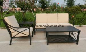 Outdoo Rattan Weave Chair Conversation Sofa Set pictures & photos