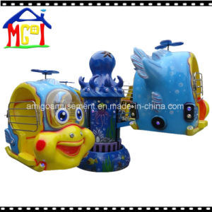 2018 Amusement Lifting Revolving Kiddie Ride Big Eyes Fish Helicopter pictures & photos