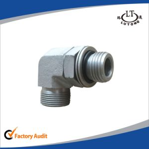 Rubber Hose Hydraulic Pipe Fittings 2c9 Elbow Adaptors pictures & photos