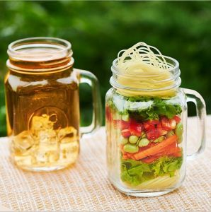 400ml Has Handles, Lids, Rectangles, Beer Mugs, Fruit Juice Cups, and Beverage Glases pictures & photos