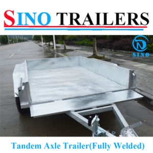New Design Heavy Duty Fully Welded Tandem Box Trailer pictures & photos