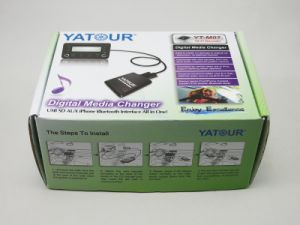 Yatour Digital Media Changer, Car Audio with iPod/iPhone/USB/SD/Aux in Digital MP3 Player (YT-M07) pictures & photos