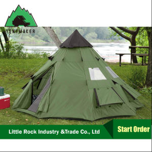 2017 High Quality Military Tent Big Camping Bell Teepee Tents pictures & photos