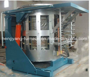 Steel Shell Melting Furnace for Iron, Aluminum, Zinc, Brass, Lead pictures & photos
