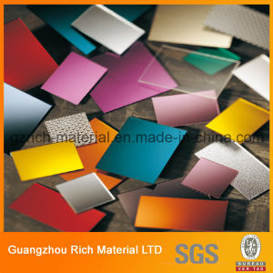 Decoration Silver Mirror Acrylic Sheet Plastic Perspex Mirror Sheet pictures & photos
