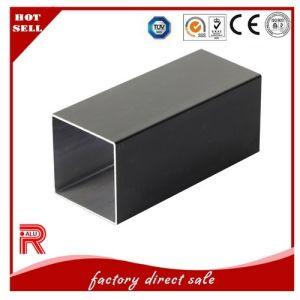 Aluminum/Aluminium Black Anodized Profile for Window/Doors pictures & photos