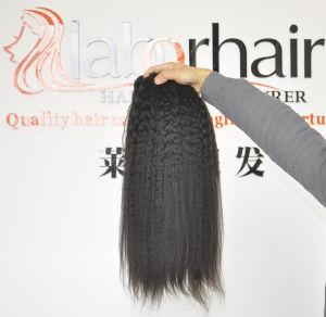 Labor Hair Products Brazilian Hair Weave Bundles Kinky Straight Virgin Hair 105g, Top Human Hair Extension Bundles pictures & photos