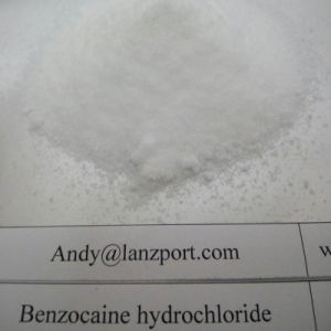 Safely Pass Customs Benzocaine Hydrochloride Benzocaine HCl Local Anesthetic Drug pictures & photos