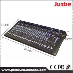 Professional Audio Mixer Console 24 Channel USB Kit pictures & photos