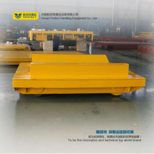 Heavy Cargo Bjt Coil Handling Trailer with Steel Platform pictures & photos