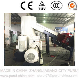 Plastic Squeezed PP Woven Bag Recycling Granulating Machine pictures & photos