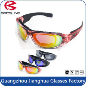 Eye Protection Military Tactical Shooting Safety Glasses with Foam Seal Full Rim pictures & photos