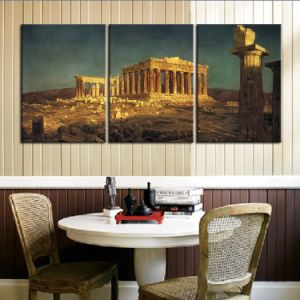 Home Decor Custom Modern Canvas Oil Wall Picture Landscape House Painting pictures & photos