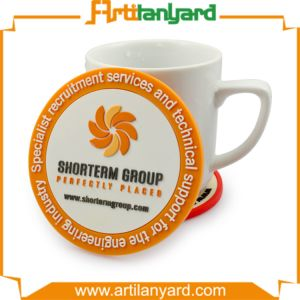 Customized Design PVC Cup Coaster pictures & photos