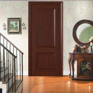 Wood Skin MDF Veneer Solid Core Composite Bedroom Door (GSP8-044) pictures & photos
