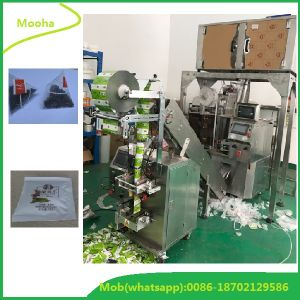 Pyramid Non Woven Teabag Filling Sealing Packing Machine pictures & photos
