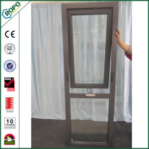 Plastic UPVC Double Glazing Awning Windows pictures & photos