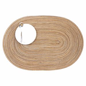 100% PP Oval Placemat for Tabletop & Flooring pictures & photos